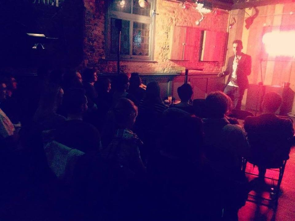 underground comedy club